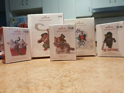 Lot Of Hallmark Christmas Collectibles