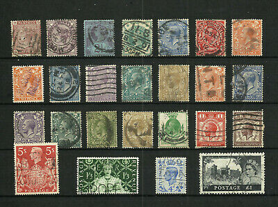 Great Britain Stamps Used #FZ1909