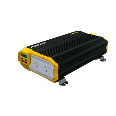 1500W(3000W) 12VDC-240VAC Modified Sinewave Inverter with 2X2.1USB & LCD Display