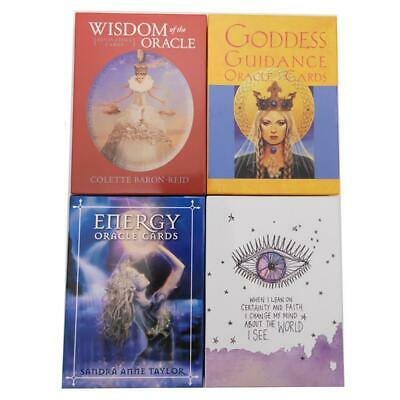 Tarot Deck Cards English Oracle Fate Board Game Popular Card For Women 6 Styles