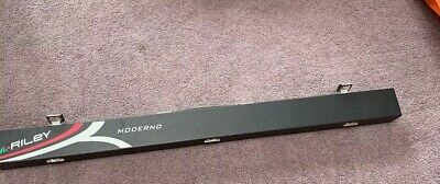 Riley Moderno endorsed by Shaun Murphy snooker cue & Hard case 57""