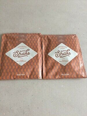 35 EXANTE MEAL replacement, shakes, puddings, meals and