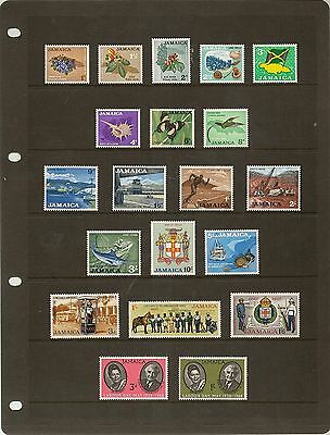 Jamaica 1962-96 Qeii Never Hinged Mint Colln (190+6M/S)