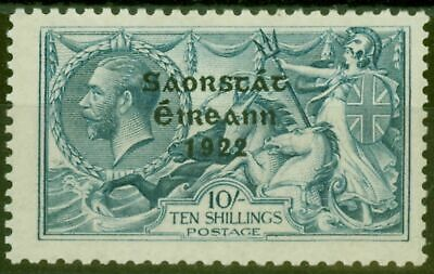 Ireland 1922 10s Dull Grey-Blue SG66 Fine Mtd Mint