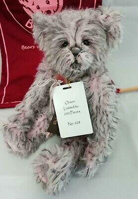 SPECIAL OFFER! 2018 Charlie Bears Isabelle Mohair ORSON No 228/250 (RRP £145)