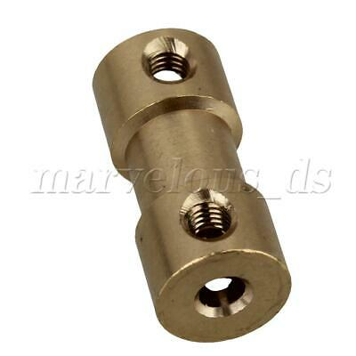 2x M3 Brass Motor Shaft Coupling Connector w/ Allen Wrench for RC Aircraft