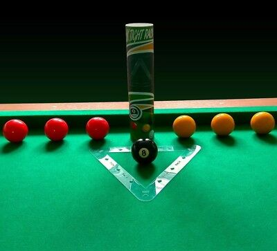 "UK Magic Rack - 8 Ball Pool Triangle - Use with 2"" inch Balls - UK TIGHT RACK"