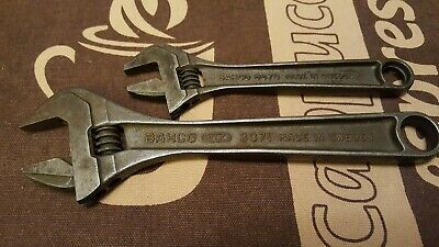 Bahco ergo 8071 8inch + Bahco 8070 6inch adjustable wrench Forged