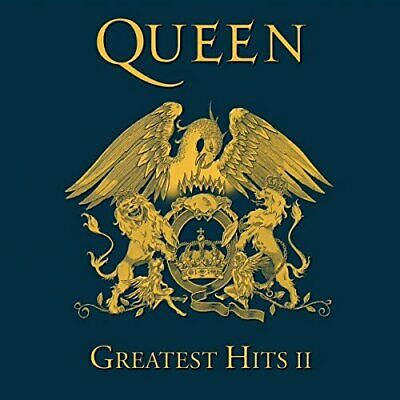 QUEEN GREATEST ULTIMATE HITS II SONGS Volume 2 AUDIO MUSIC CD NEW UK REMASTERED