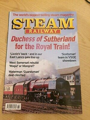 Steam Railway Magazine. April 26 - May 23 2002 Number 270