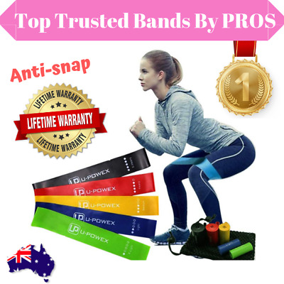 Resistance Bands Yoga Bands Loop GYM Fitness Power Heavy Strength 5-In-1 Set