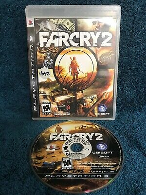 Far Cry FarCry 2 (Sony PlayStation 3, 2008) No Manual Tested Ubisoft Rated M Fun