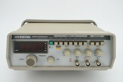 GW INSTEK GFG-8020H Function Generator with IEC power cable