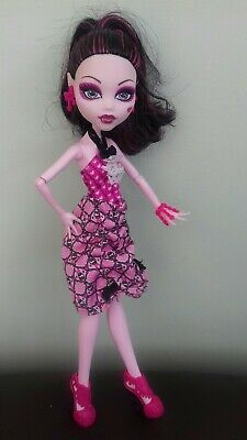 Monster High Doll. Draculaura Dot Dead Gorgeous in original clothes.