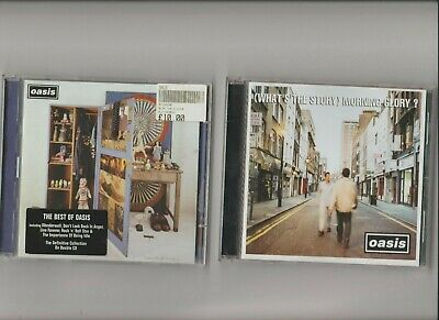OASIS stop the clocks (Double CD) + What's The Story Morning Glory / 2 CD Albums