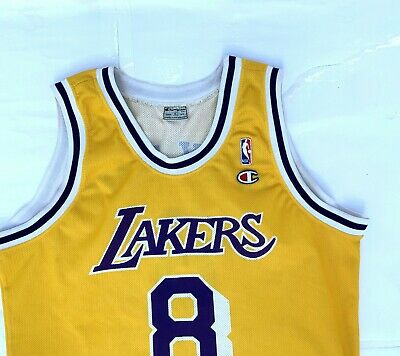 Champion Vintage Jersey Kobe Bryant Los Angeles Lakers trikot canotta Nba