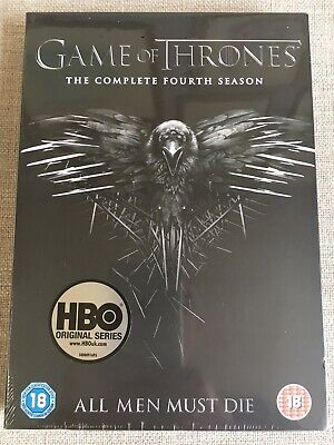 Game Of Thrones Season 4 DVD The Complete Series New & Sealed Boxset UK