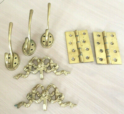 Various Brass door Hooks and Hinges