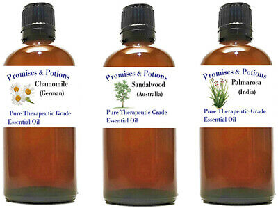 100 ml 3.3 oz Pure Essential Oil- Promises and Potions