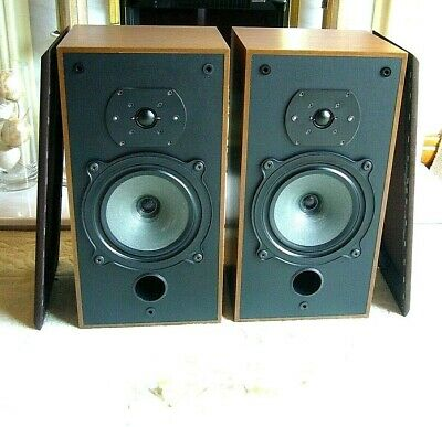 AUDIOPHILE B&W DM-10 Speakers *Made in England* Free quality Speakers wires