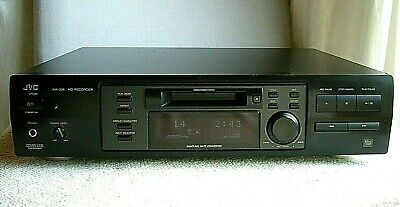 Quality JVC MiniDisc Player/Recorder XM-228 *Made in Japan* Free Mini Discs x2
