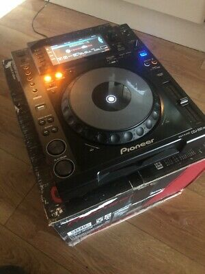 Pioneer CDJ-900NXS nexus Professional CD PLAYER with Original Box IMMACULATE 900