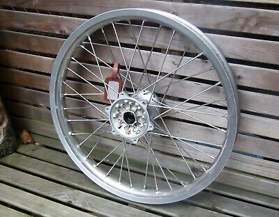 Yamaha TTR250 Motorcycle front spoked wheel