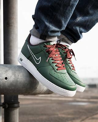 NIKE AIR FORCE 1 HIGH Trainers Leather NikeiD AF1 UK Size