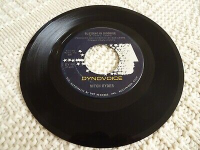 Mitch Ryder Blessing In Disguise/What Now My Love Dynovoice 901 M-