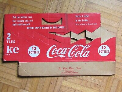 2003 Louisiana Purchase Carrier Coca Cola Cardboard 6-Pack Bottle Case
