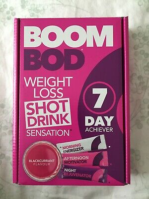 Boombod 7 Day Achiever 21 Sachets Weight Loss Drink Boom Bod Rrp 29 99 Sealed