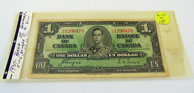 1937 Bank Of Canada One Dollar Bill - Dn1296470