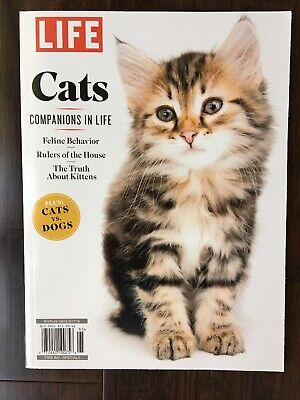 LIFE MAGAZINE SPECIAL EDITION CATS COMPANIONS IN LIFE New 2019 Purr-fect Gift