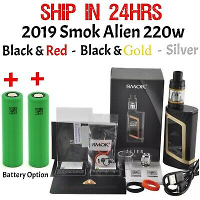 2019 New Smok1 Alien1 220W Starter Kit w/ TFV8 Baby Beast Tank (USA Seller)