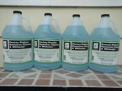 Spartan Chemical Peroxy Protein Remover, Cleaner & Whitener 4 Gallon Free Shippi