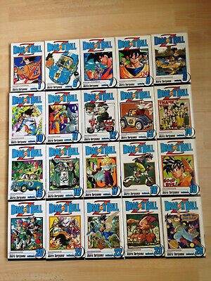 24 x Dragonball Dragon Ball Z Manga Book Collection 1 to 26 (end) ENGLISH