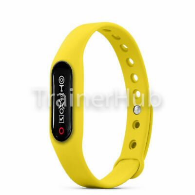 GOTCHA YELLOW Replacement Wristband strap for GO-TCHA Pokemon Go 6 colours