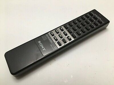 SONY Model RM-D325 Black Remote Control Unit