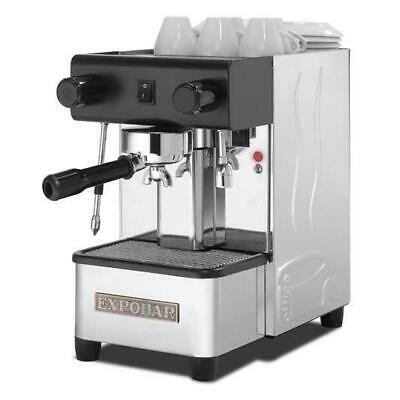 Brand New WHITE Expobar Office Semi Auto  1 Group Expresso Coffee Machine