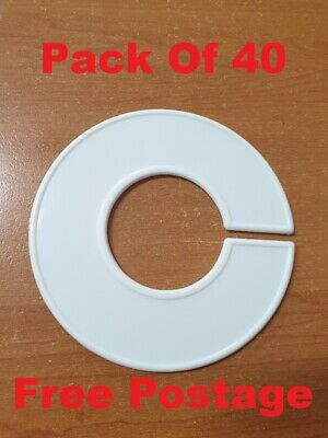 CHEAP pack of 40 BLANK size discs dividers markers for clothing racks