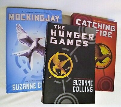 The Hunger Games Trilogy Mixed Lot Set-Suzanne Collins 1PB 2HC