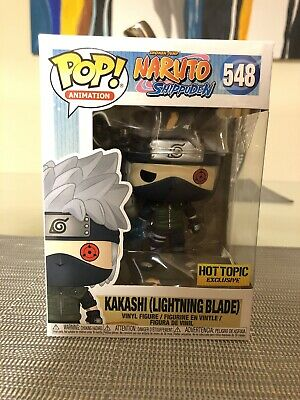 Funko Pop #548 kakashi (Lightning Blade) (Hot Topic exclusive!)