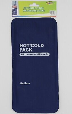 Hot Cold Gel Pack Microwaveable Reusable 210G Pain Relief First Aid