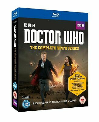 DOCTOR WHO Complete Series 9 Blu-ray 9th Ninth Nineth Season Nine NEW UK DR R2