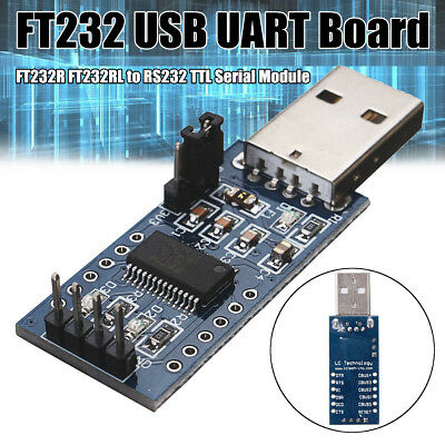FT232 USB UART Board FT232R FT232RL Vers RS232 TTL Serial Module Convertisseur