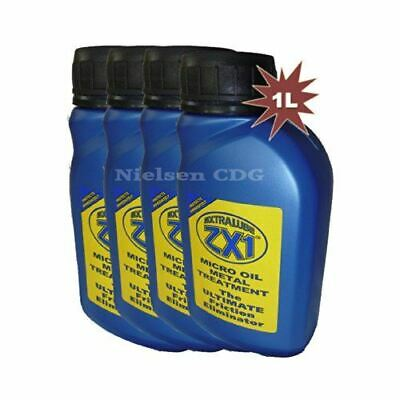 Extralube ZX1 Micro Oil Metal Anti-Friction Treatment Eliminator 4x250ml =1L