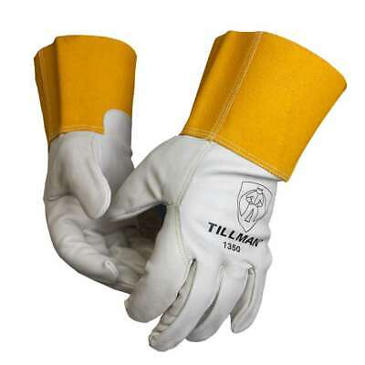 Tillman Large 1350 Top Grain Cowhide Unlined MIG Welding Gloves