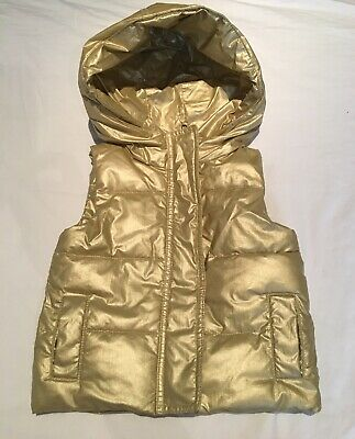 Super Cool Country Road Gold Girls Puffer Vest Size 12-18months (size 1) EUC