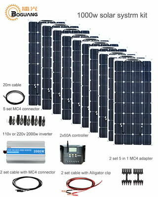 NEW 6000 WATT 6kW Grid tie Home Solar Panel Kit!!! - $8,400 00