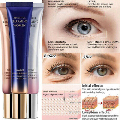 Firming Hyaluronic Acid Remove Dark Circles Eye Serum Anti Wrinkle Eye Cream